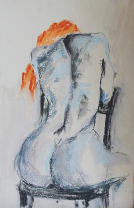 042 Венский стул / Viennese Chair 32x49 cm, 2020