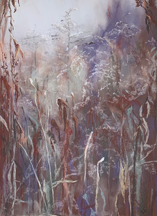 102. Осень. Этюд 1 / Fall. Study 1 50x65 cm, 2019