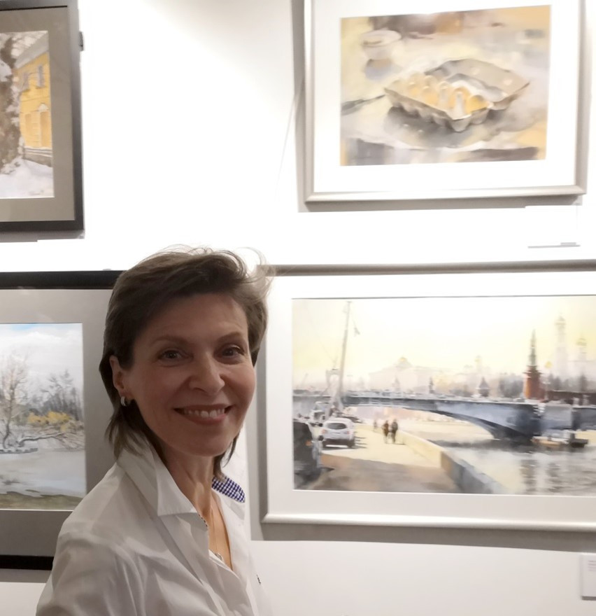 Елена Лобовикова, 2019 г, 3-я выставка НСП