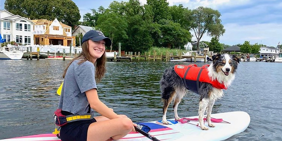 Doggie Paddle with WLK and Capital Sup