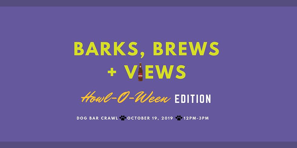 Barks, Brews + Views: Howl-O-Ween Edition