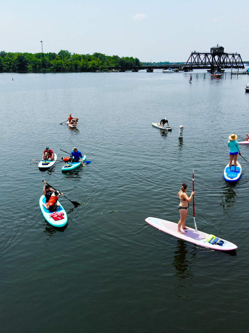 Dogs of Charm City Pup Sup with Bmore SUP
