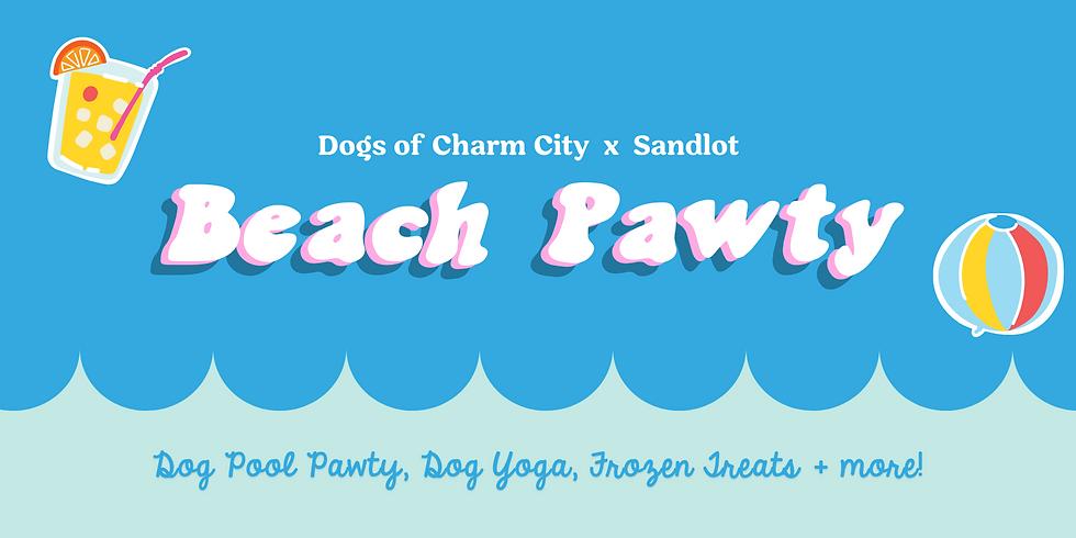 Sandlot Beach Pawty
