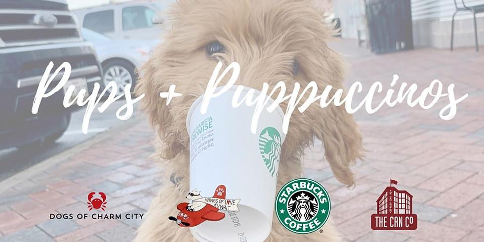 Pups + Puppuccinos
