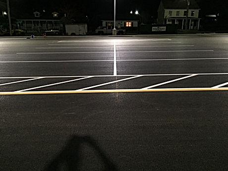 Asphalt Striping Services Smyrna Elementary School Smyrna Delaware