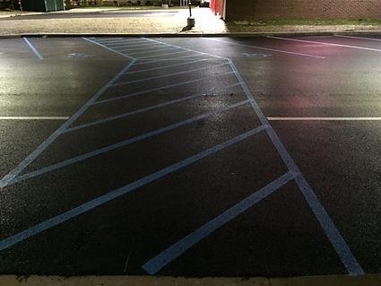 Asphalt Striping Services Wendy's Middletown Delaware