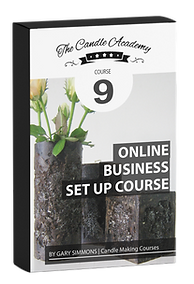 online candle making course 9 content