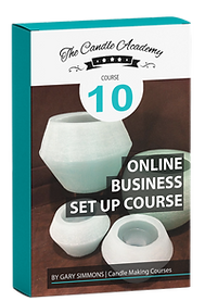 online candle making course 10 content