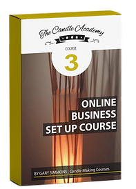 online candle making  course 3 content