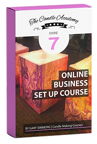 online candle making course 7 content