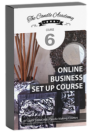 online candle making course 6 content