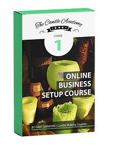 online candle making course 1 content