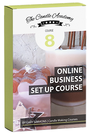 online candle making course 8 content