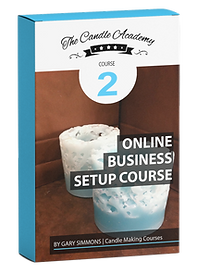 online candle making course 2 content