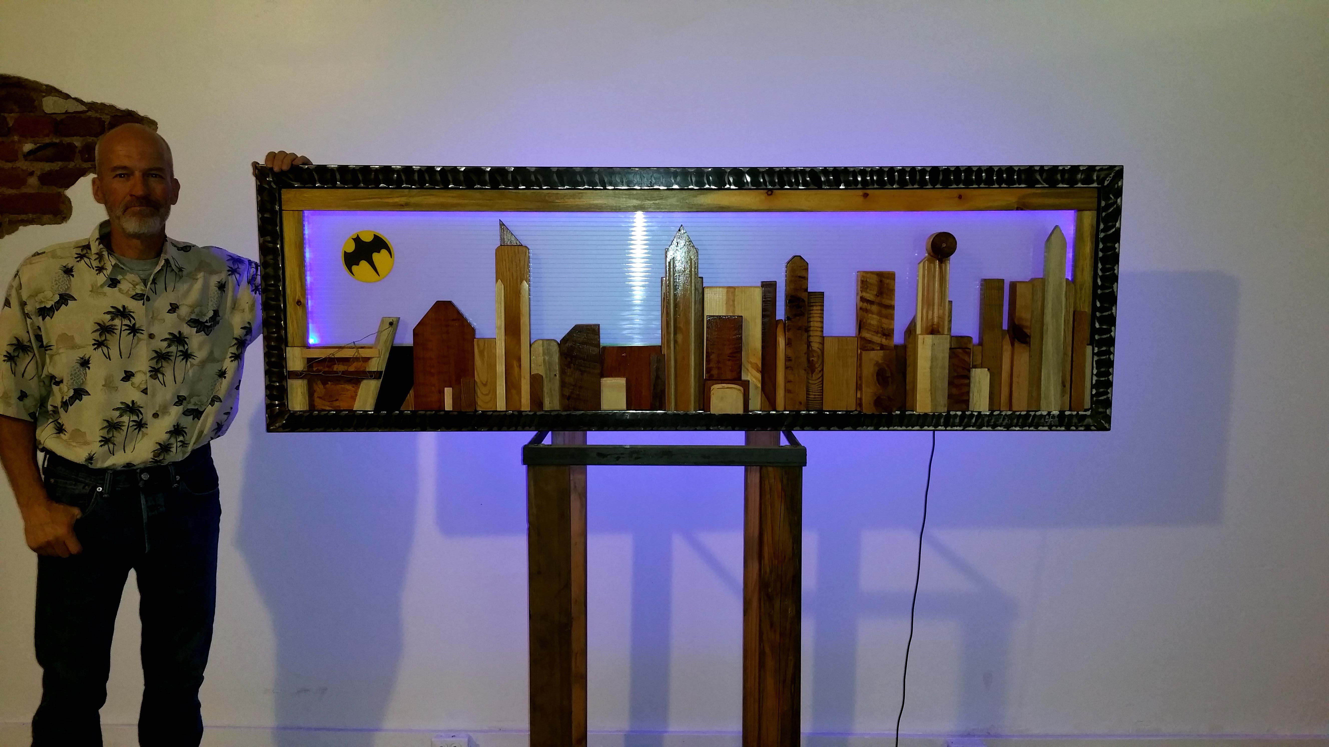 Gotham City Sculpture