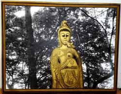 Orient Gold Statue