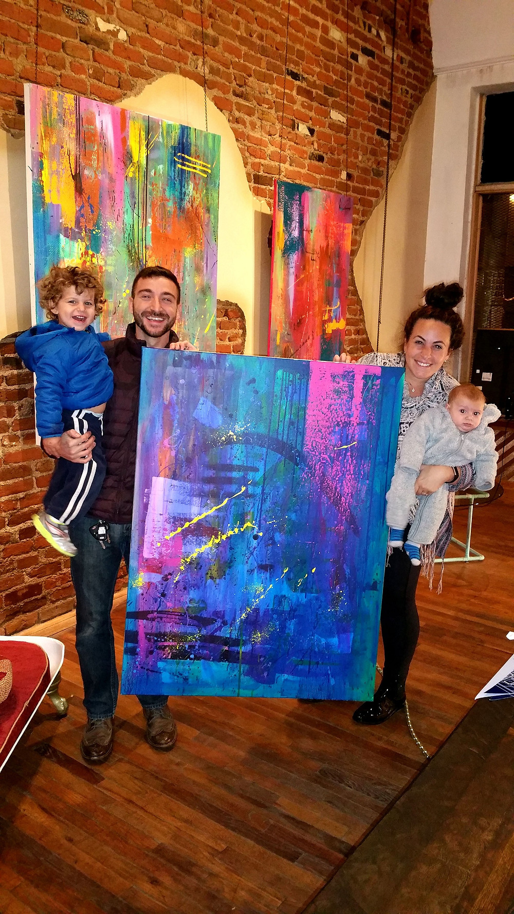 Collectors Ben & Aliza Sheir with their two beautiful children!