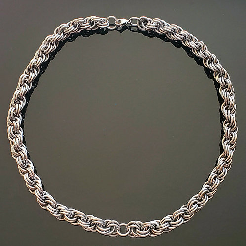 Thick Double Spiral Chain