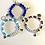 Thumbnail: Birthstone Name Bracelet Set