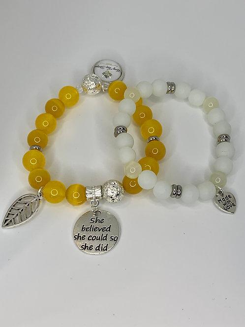 Sunshine Bracelet Set
