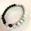 Thumbnail: Lava Stone & Howlite Bracelet
