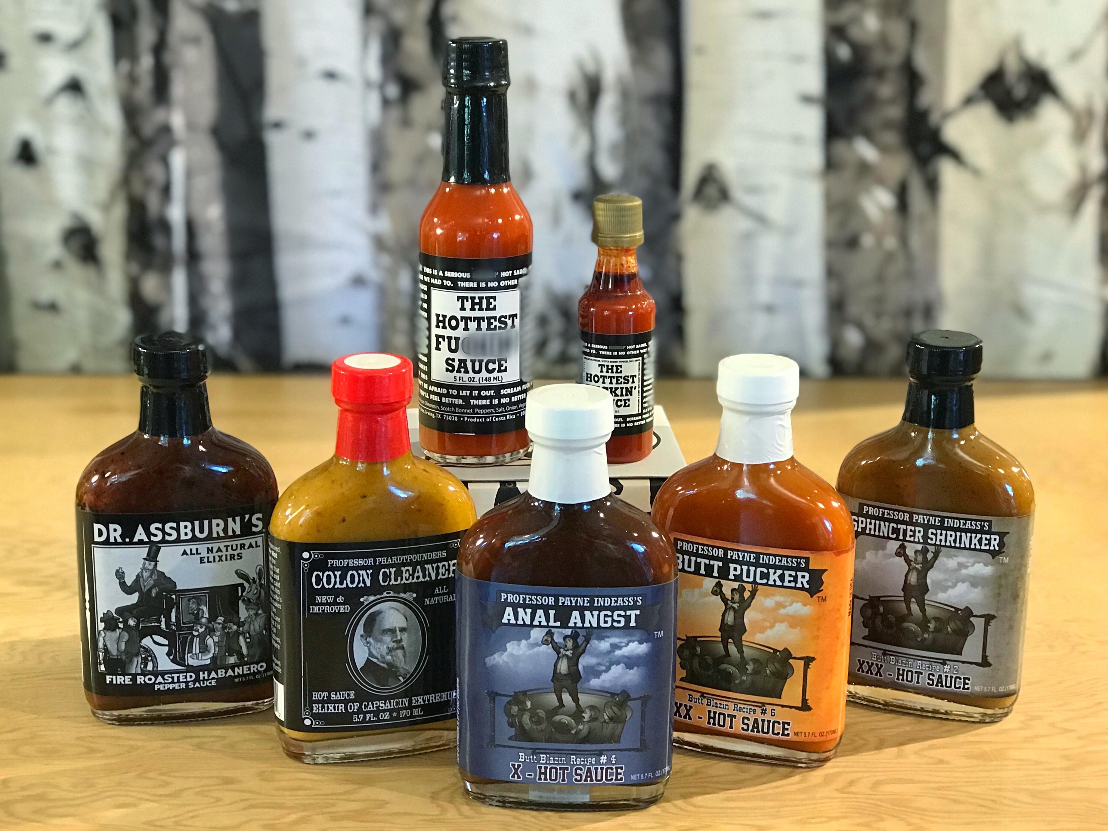 Hot sauces