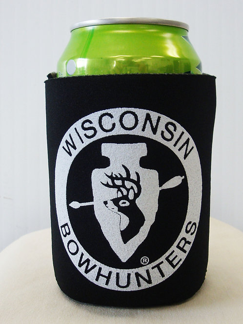 Black Can Koozie  #391