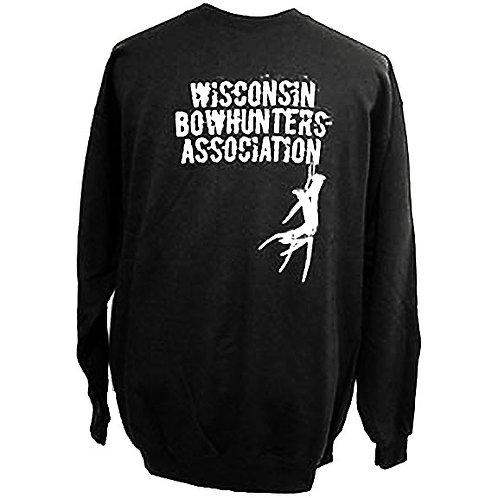 Sweatshirt-Black w/Antlers #337