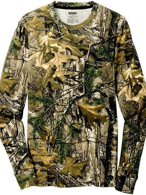 Camo T-Shirt, Long-sleeved #347