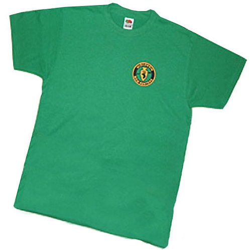 Kelly Green T-Shirt with logo  #106