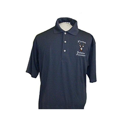 FeatherLite® Slate Gray Polo Shirt    #340