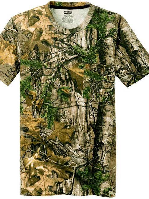 Camo T-Shirt, Short-sleeved #346