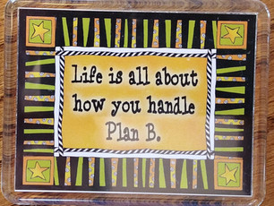 Plan B ~ An Opportunity!