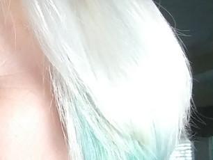 Blue Hair Glam (a la Dr. Seuss)