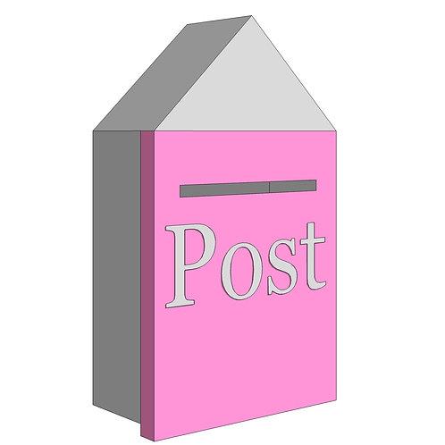 POST BOX - BUTTERFLIES
