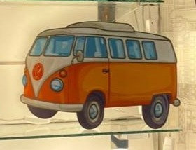 Sitting light-VW Van