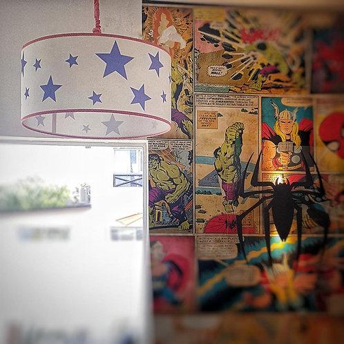 Tubo 60-Ceiling light- SUPER HEROES