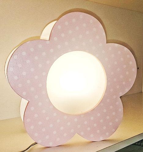 Sitting light-Pink Flower