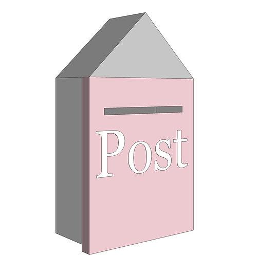 POST BOX - MY LITTLE WORLD/PINK