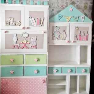 Bookshelves & Toy storage