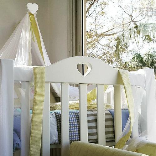 Jolie Coeur Crib