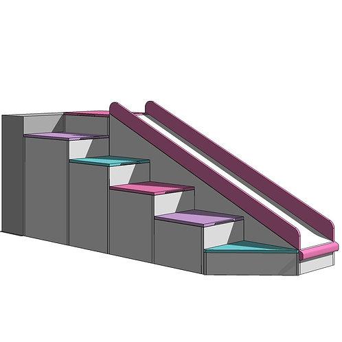 STEPS & SLIDE 90 - BUTTERFLIES