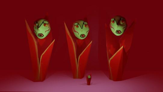 Demon face plant