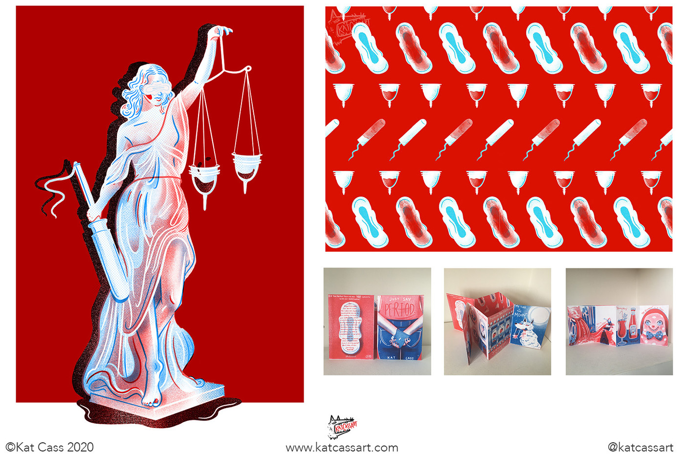 LADY JUSTICE and JUST SAY PERIOD