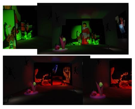 3D design model of installation