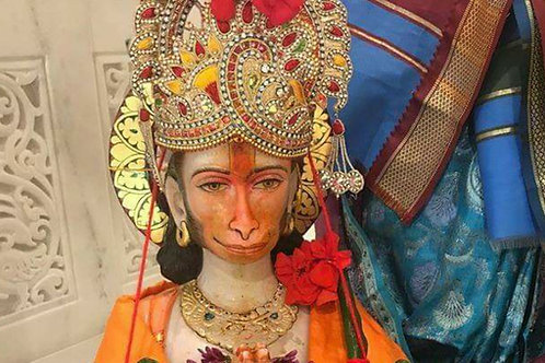 3 Months Hanuman Abhishek/Puja on Tuesdays