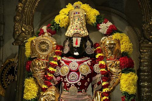 3 Months Sri Venkateswara Abhishekam/Puja