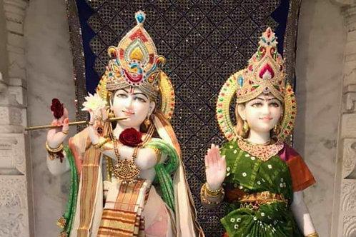 3 Months Radhakrishna Abhishekam / Puja on Wednesdays