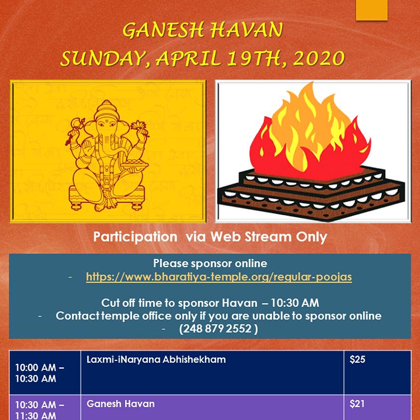 Ganesh Havan