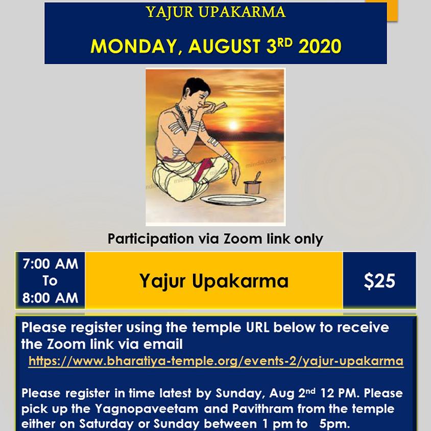 Yajur  Upakarma